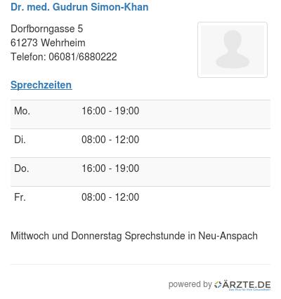 Dr med gudrun simon khan 301341