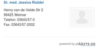 Dr med jessica rueddel 579648