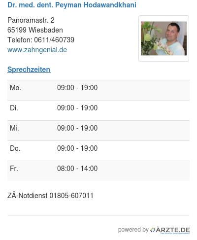Dr med dent peyman hodawandkhani