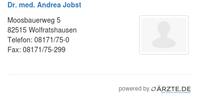 Dr med andrea jobst 425286