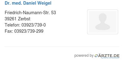 Dr med daniel weigel 540748